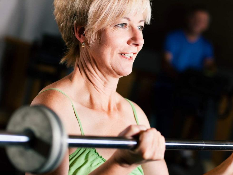 Styrketräning blir ännu viktigare när du börjar komma upp i åren.