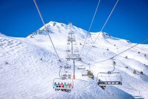 Grandvalira, både snö- och solsäker skiddestination.