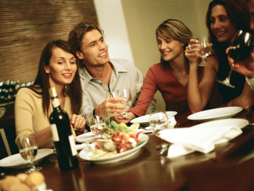 """Kvinnor värderar """"bra ytor för gemensamma måltider"""" och """"bra ytor för socialt umgänge"""" högst..."""