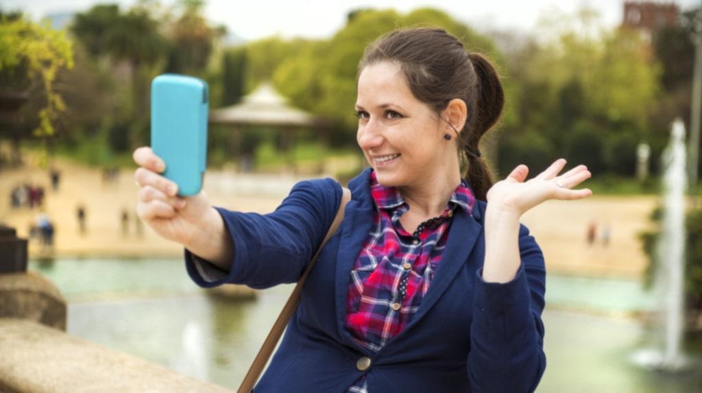 Vips kan du fylla mobilen med nya selfies!