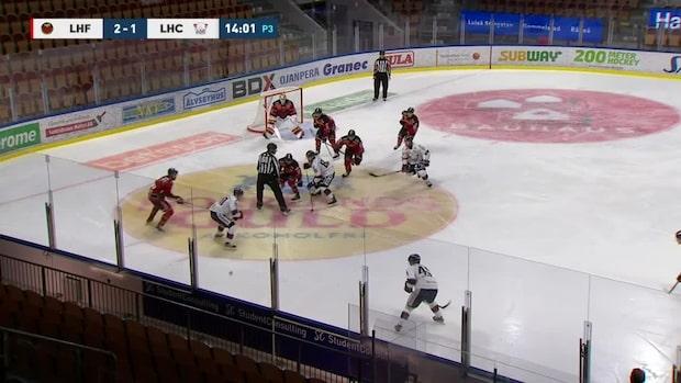 Höjdpunkter: Linköping tappade mot Luleå