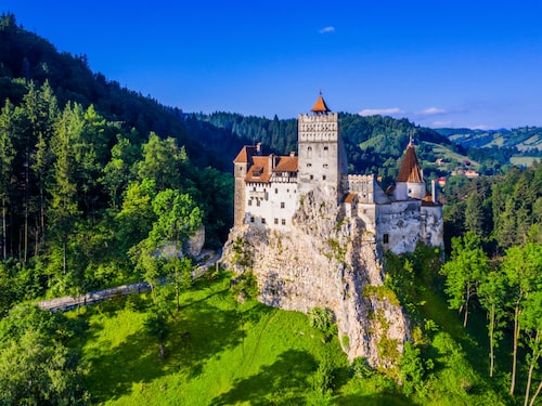 På slottet Bran i Rumänien bodde – kanske – förebilden till Dracula.