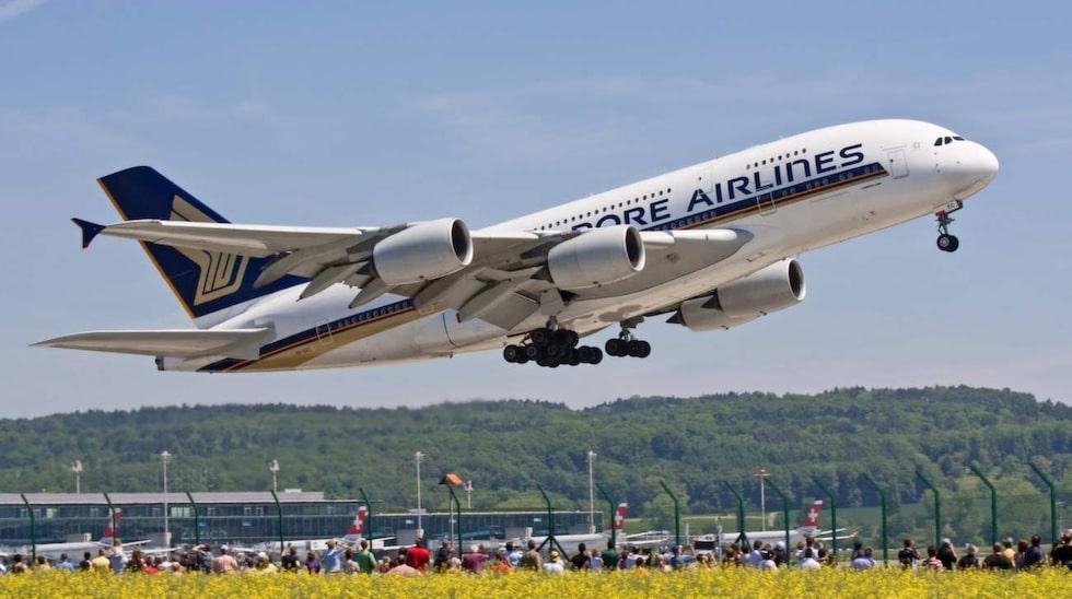 <p>Följt av Singapore Airlines.</p>