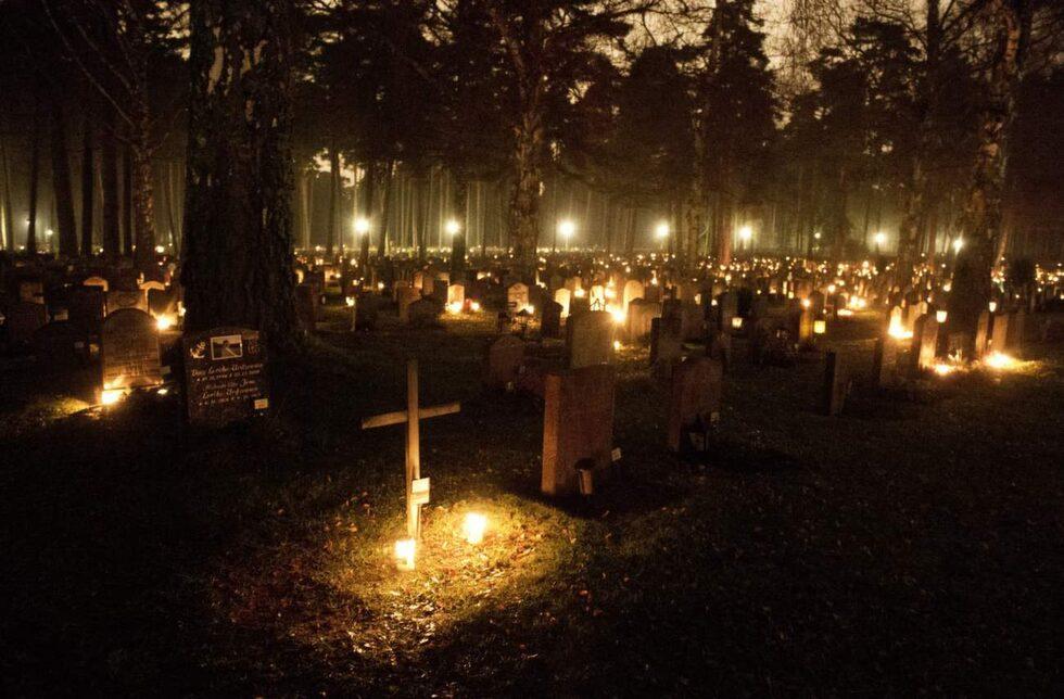 <p>Skogskyrkogården, Stockholm, Sverige.</p>