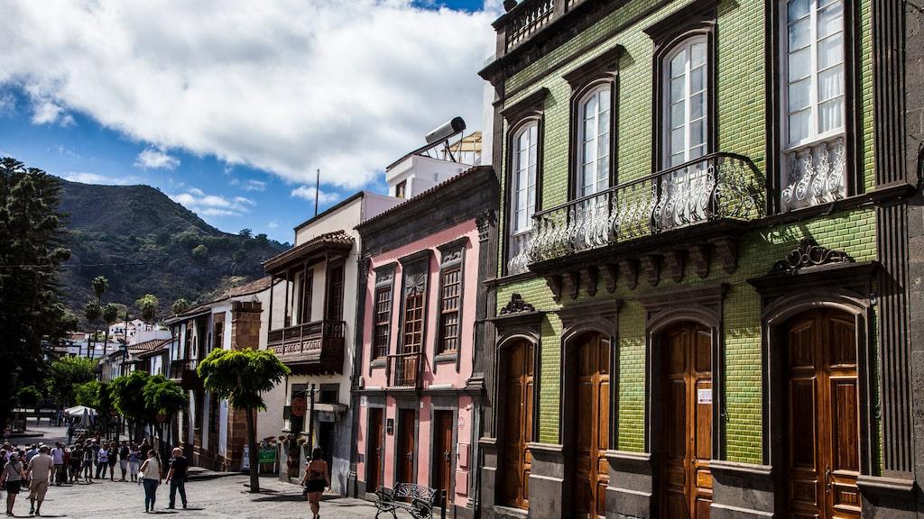 Teror har Gran Canarias finaste 1500-talscentrum.