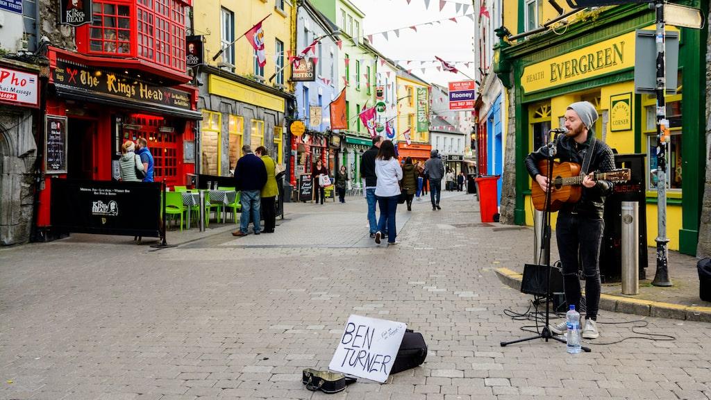 Även Irländska städer som Galway har ökat i popularitet.