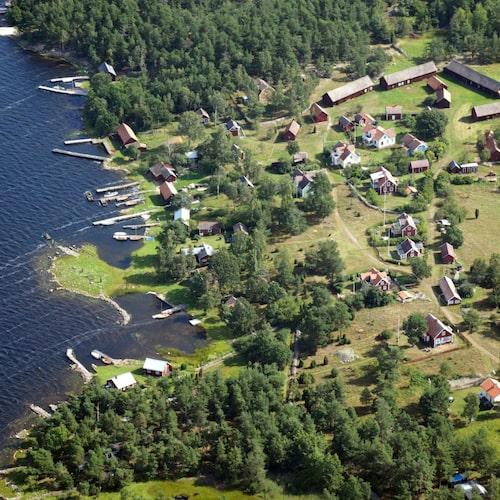 Runnö ingår i ett stort naturreservat med rikt fågelliv.