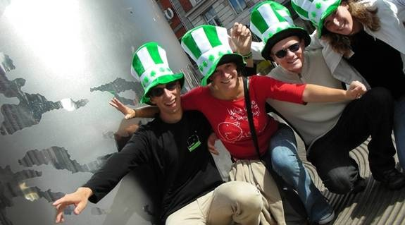 Hurling är en av Irlands nationalsporter. Under finalen fylls Dublin av tusentals fans.