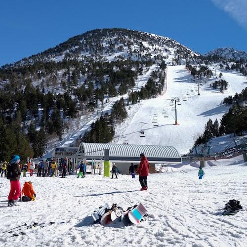 Vallnord, det andra skidsystemet i Andorra.