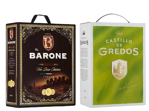 Il Barone Rosso och Castillo de Gredos Blanco är återigen de mest sålda vinerna på Systembolaget.