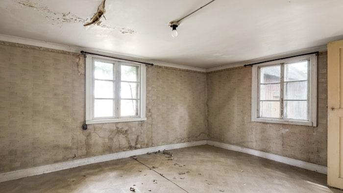 Ett rum som kanske har varit vardagsrum?