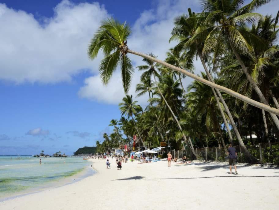 Boracay, Filippinerna.