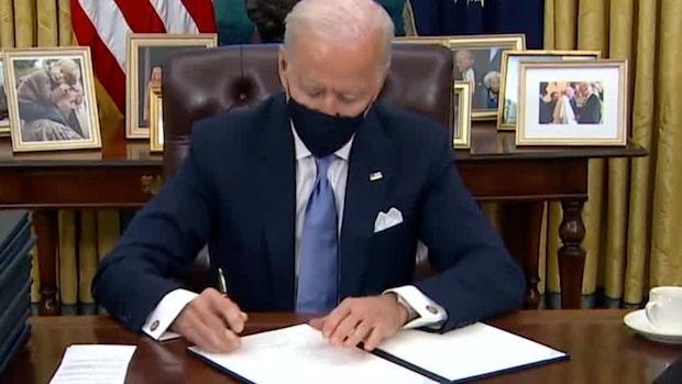 Här river Joe Biden upp Trumps politik direkt