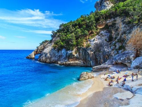 Sardinien har Italiens vackraste vatten