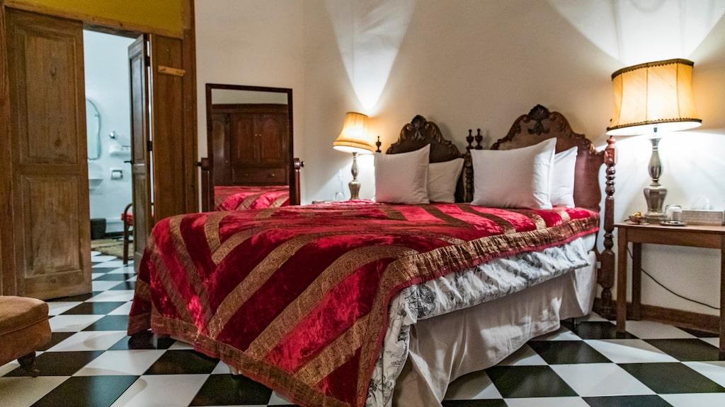 Ett av de utvalda hotellen, Casa Montesdeoca är ett omsorgsfullt inrett sagolikt i 1500-talshuset i Las Palmas.