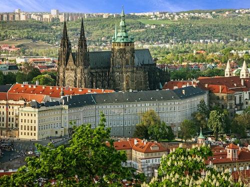 I Pragborgen har landets härskare haft sitt residens i över tusen år.