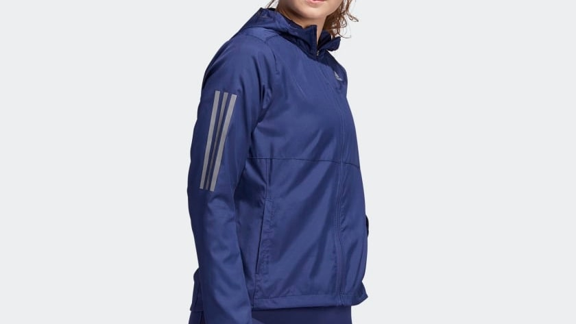 Adidas, Own the run jacket.