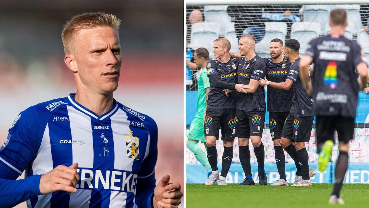 IFK Göteborgs avbräck: Wendt missar matchen