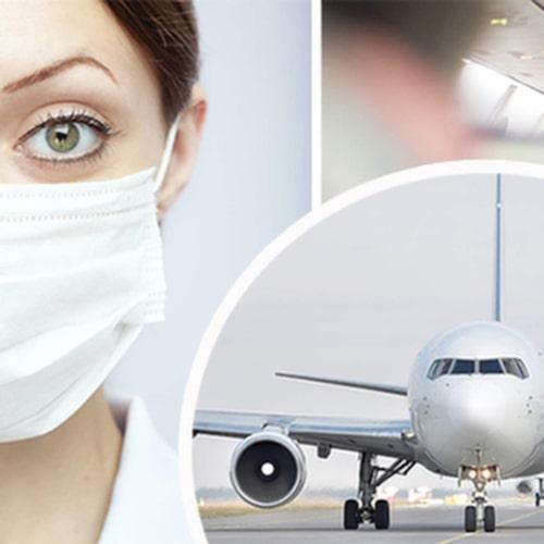 Risken att dra på sig en förkylning är alltså inte större på ett flygplan än någon annanstans.
