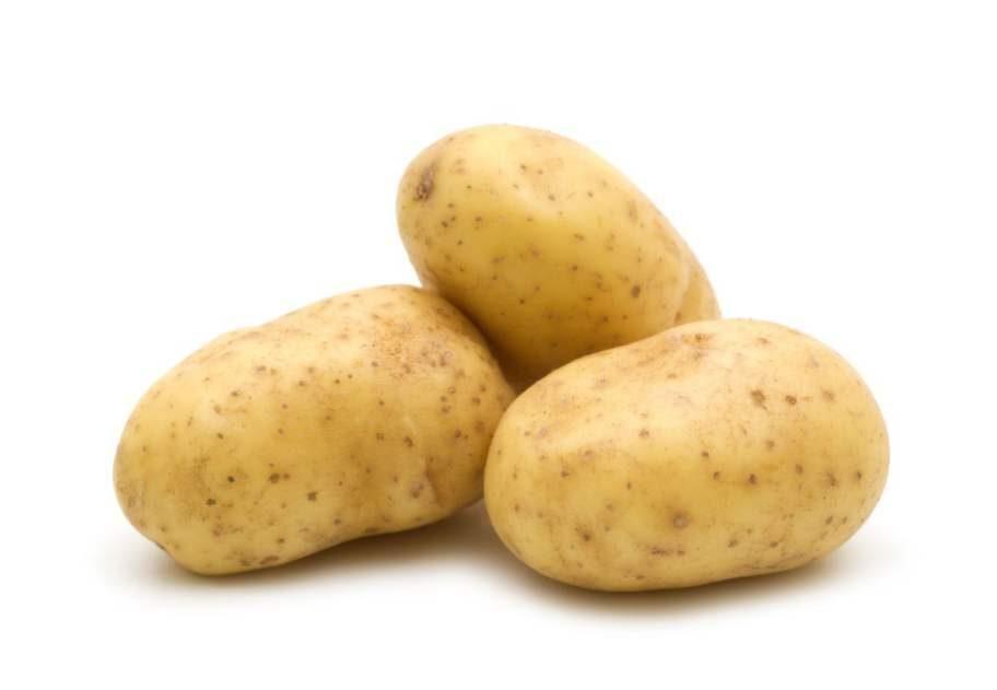 6 POTATIS.Potatisen   är en av de grödor som    är mest  besprutade i Sverige. En riktig   värsting är King Edward.   Genom  att  välja ekopotatis sprids mindre   gifter i naturen.