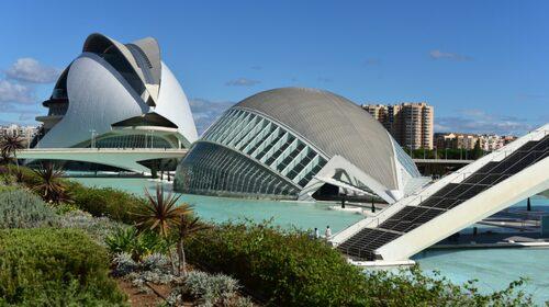 Valencia har ny och djärv arkitektur.