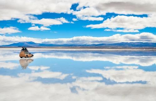 Bolivias saltöken – hänförande vacker, men livsfarlig om du inte har med mat och vatten.