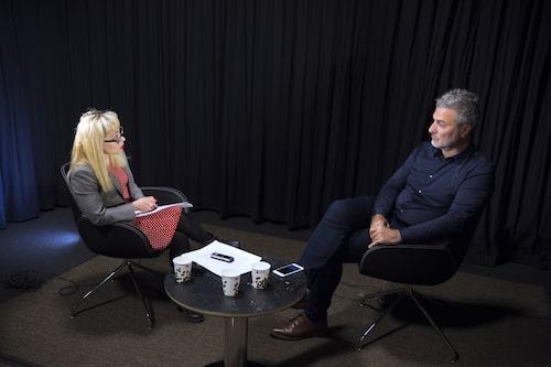 En tidigare intervju mellan Anna Bäsén och Paolo Macchiarini.