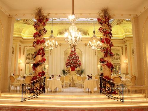 Jul-te på Ritz i London.