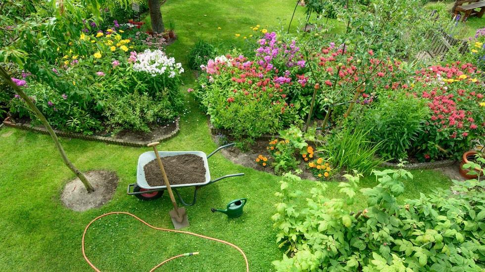 Innan du börjar gräva och plantera är det bra om du planerar din rabatt.