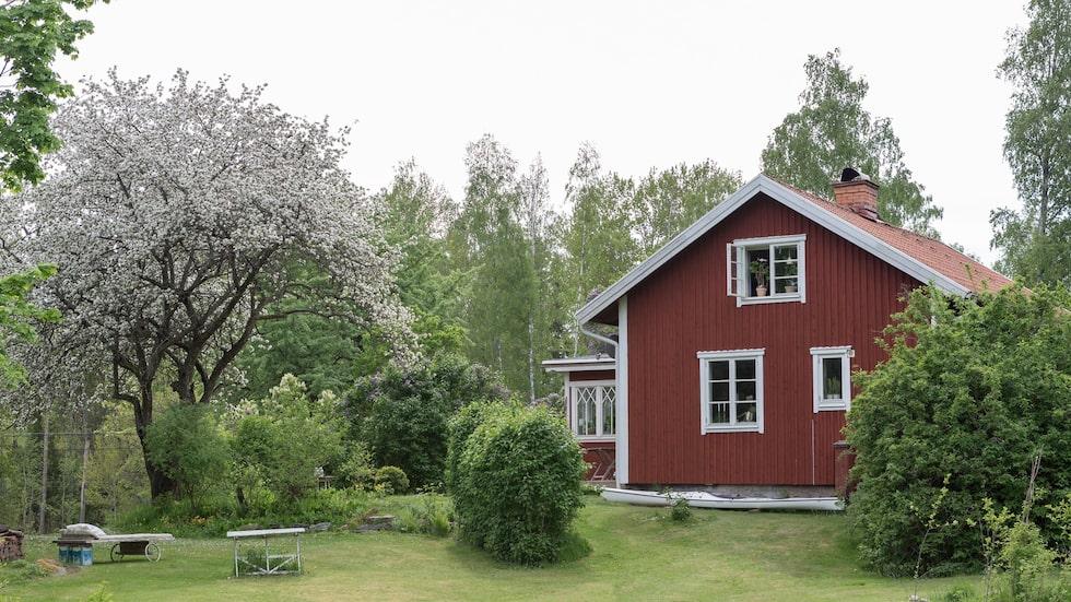 Torpet har anor från 1700-talet och Linda är femte generationen som bor i huset.