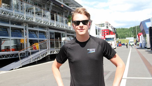 Gustav Malja ska testa för Saubers F1-team.