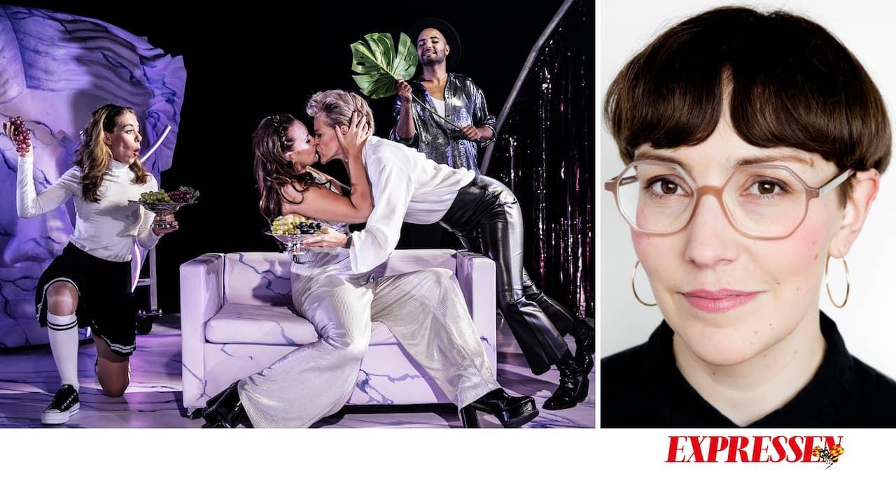 Den glittrande världen får alla att älska de lesbiska