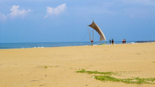 Negombo – bästa platsen att börja eller avsluta resan på.