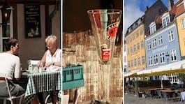 Kvarts miljon danskar har redan bokat bord