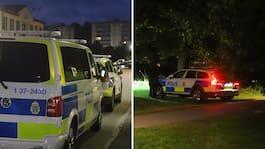 Man skjuten i Haninge – polisen jagar misstänkta
