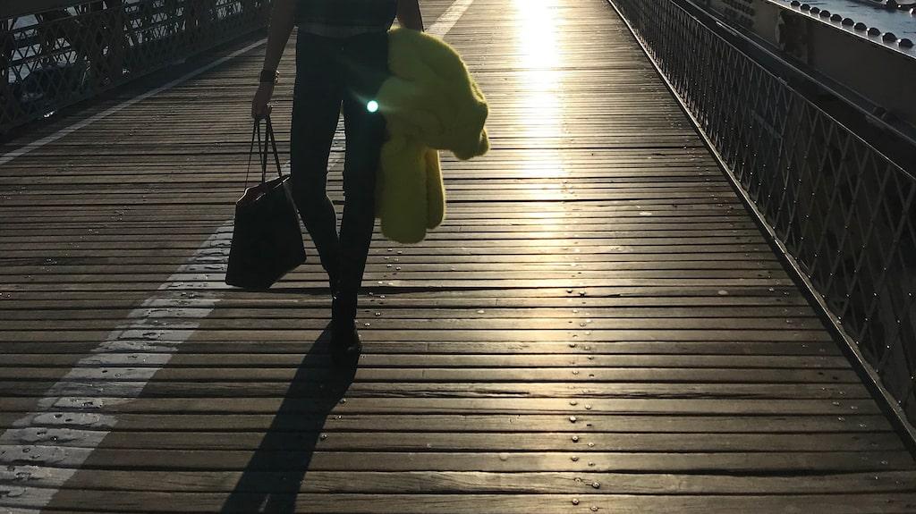 Utsikten från Brooklyn Bridge är något som man måste uppleva, om du frågar Linda Lindorff.