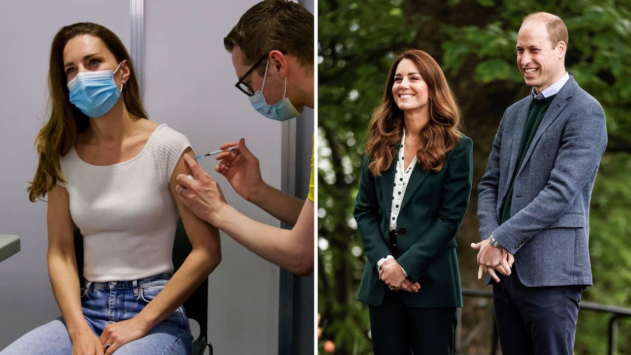Här vaccineras Kate mot covid