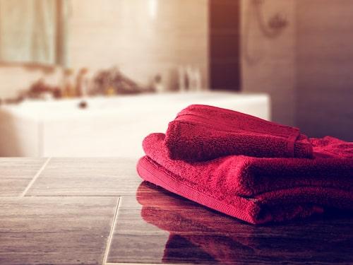Byter du handduken tillräckligt ofta?
