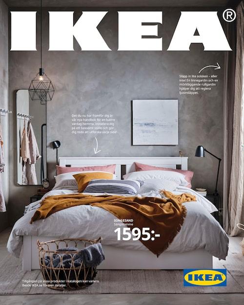 Ikea kallar den nya katalogen för en handbok med inredningstips.