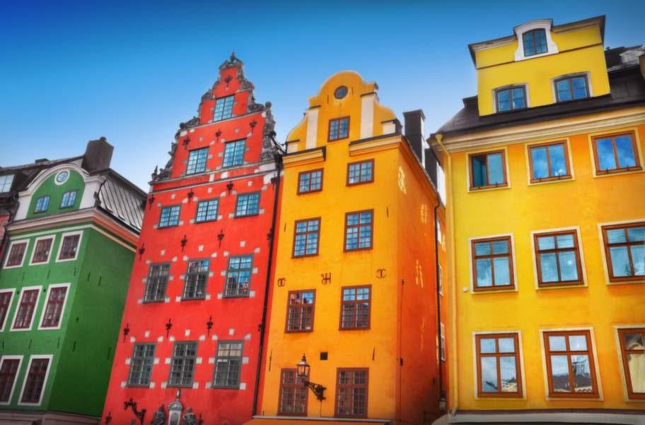 Gamla stan är en favorit för många som besöker Stockholm.