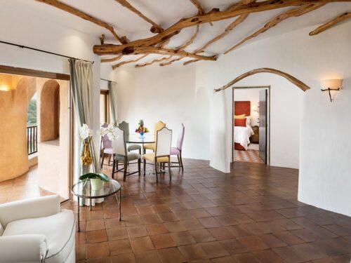 Penthouse Suite på Hotel Cala Di Volpe.