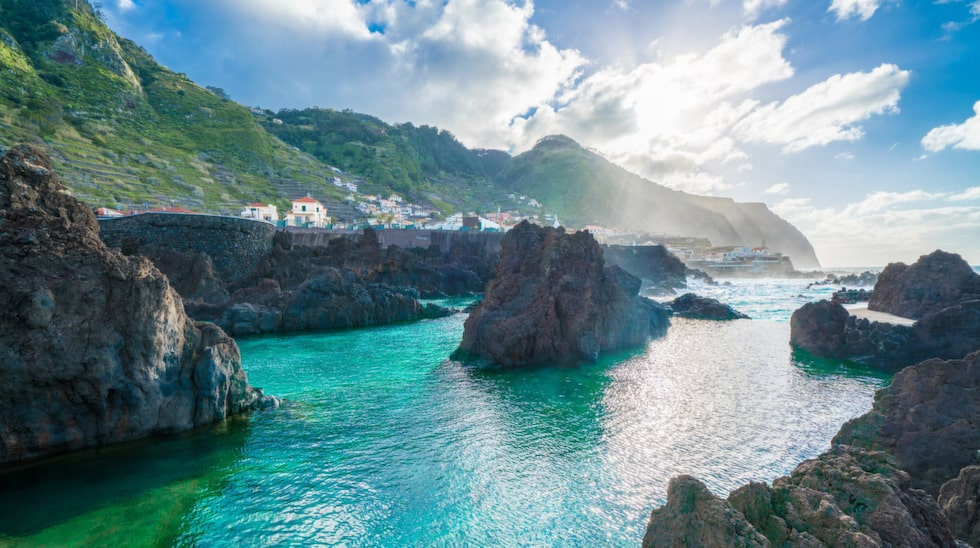 Karga, prunkande Madeira.