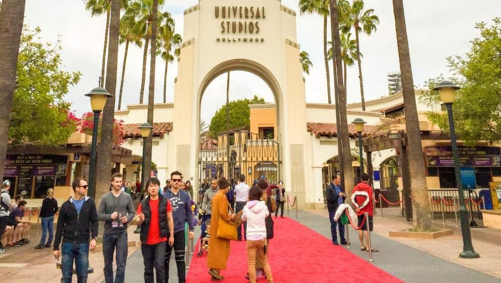 Kända vyer. I Universal Studios kan du se inspelningsstudior från kända filmer.