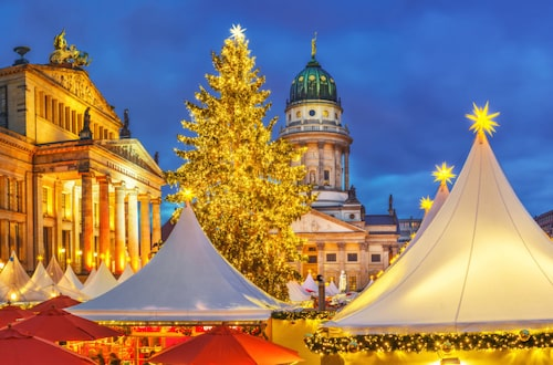Berlin har flest julmarknader av alla städer, totalt över åttio.