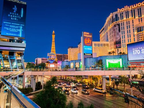 The Strip i Las Vegas.