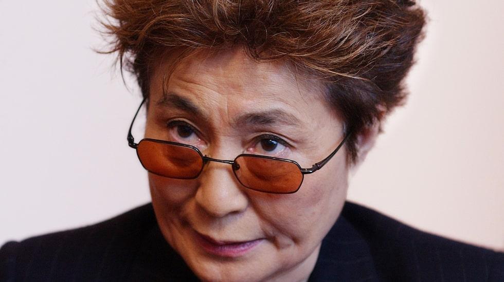 Yoko Ono har fortsatt kampen för fred i John Lennons anda.