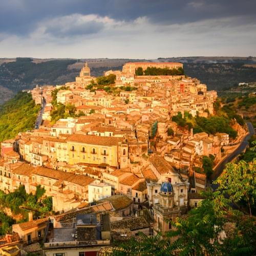 Ragusa är en vacker barockstad på Sicilien.