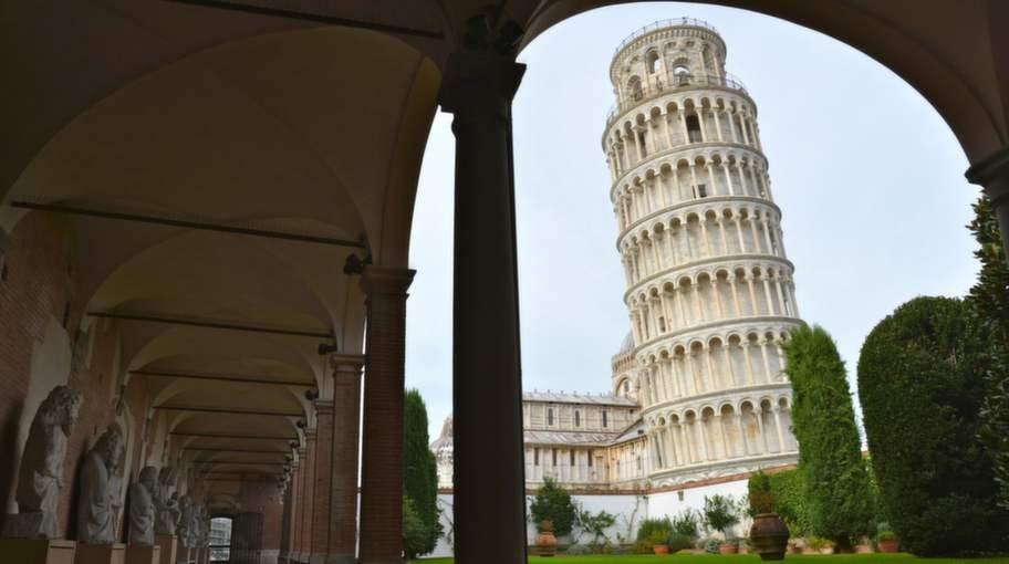 """Området mellan städerna Pisa, Pistoia och Prato i italienska Toscana kalas """"chokladdalen""""."""