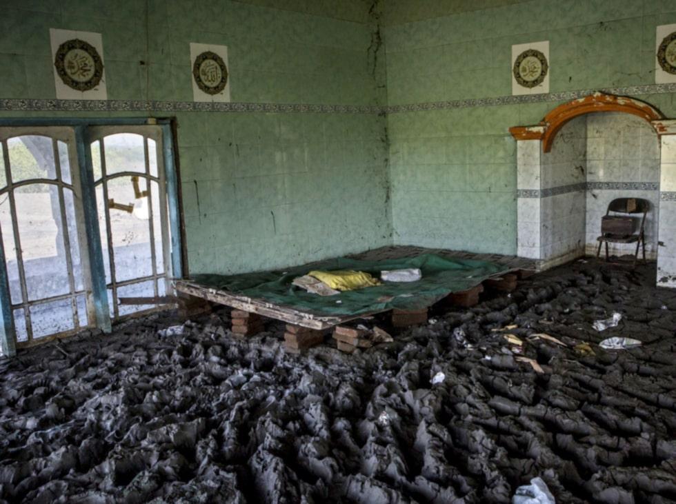 Detta är en bild från en gamal moské.