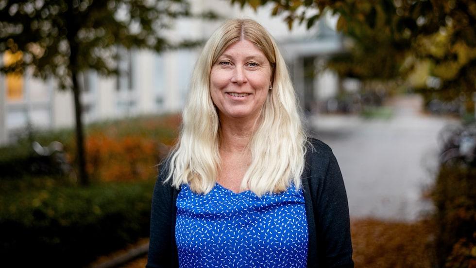 Inger Gustavsson är projektledare för ett nytt självprovningskit som ska hjälpa kvinnor ta sina cellprov.